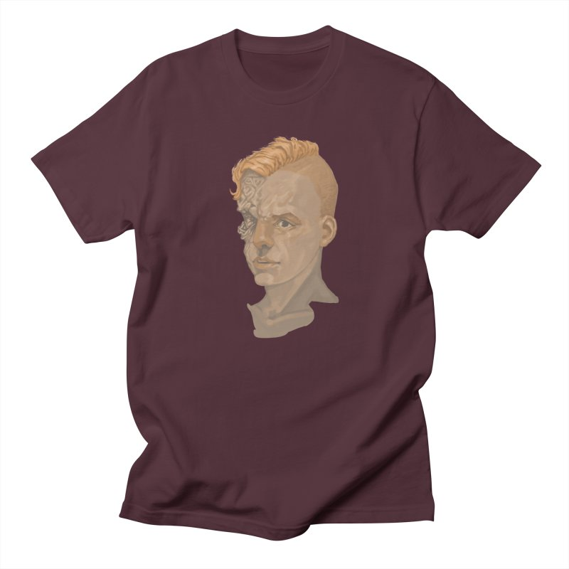 Car Face Men's Regular T-Shirt by zonka's Artist Shop