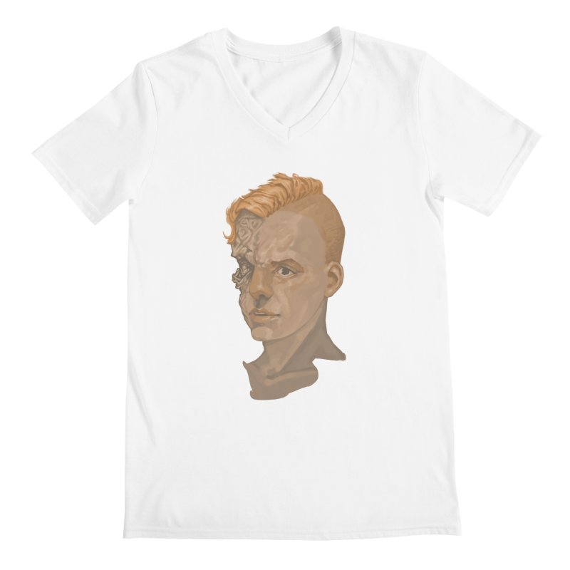 Car Face Men's Regular V-Neck by zonka's Artist Shop