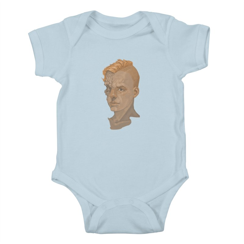 Car Face Kids Baby Bodysuit by zonka's Artist Shop