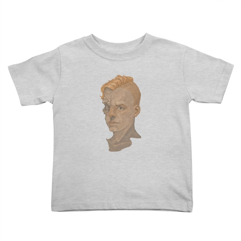 Car Face Kids Toddler T-Shirt by Aaron Zonka's Artist Shop