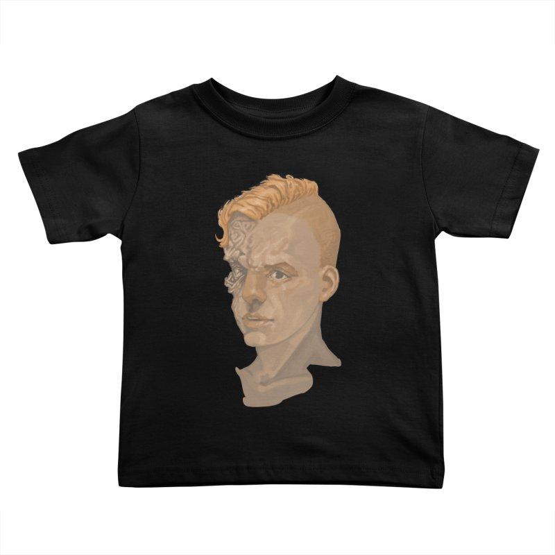 Car Face Kids Toddler T-Shirt by zonka's Artist Shop
