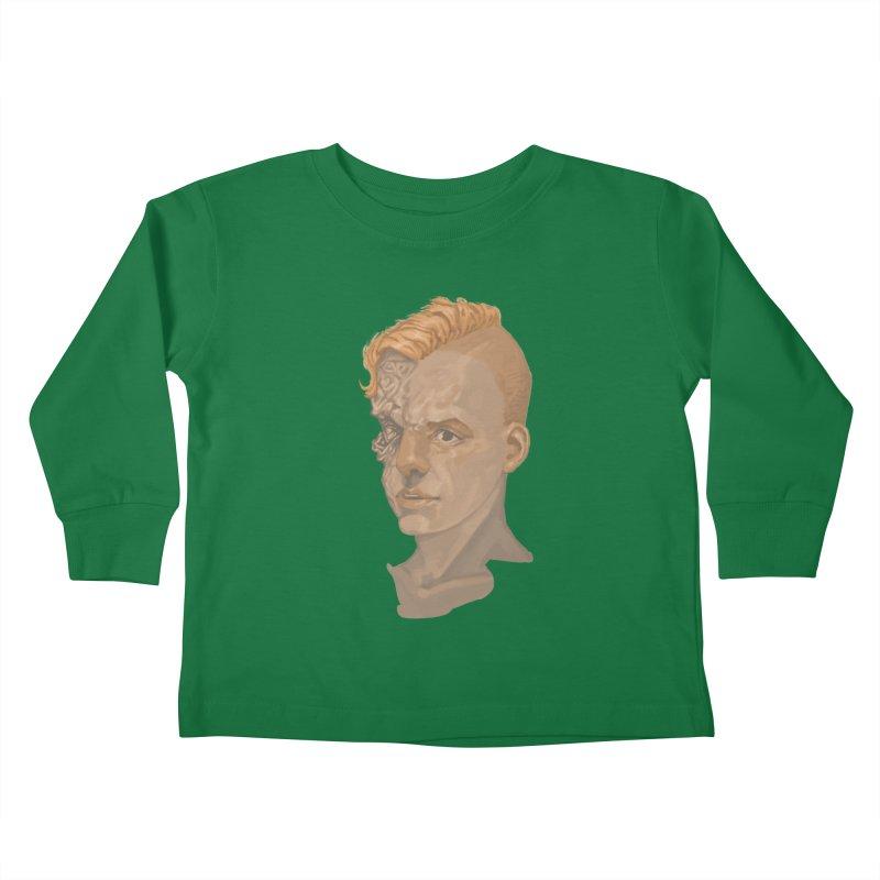 Car Face Kids Toddler Longsleeve T-Shirt by zonka's Artist Shop