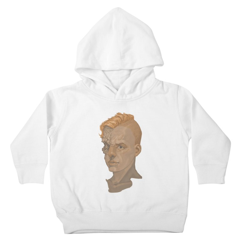Car Face Kids Toddler Pullover Hoody by zonka's Artist Shop