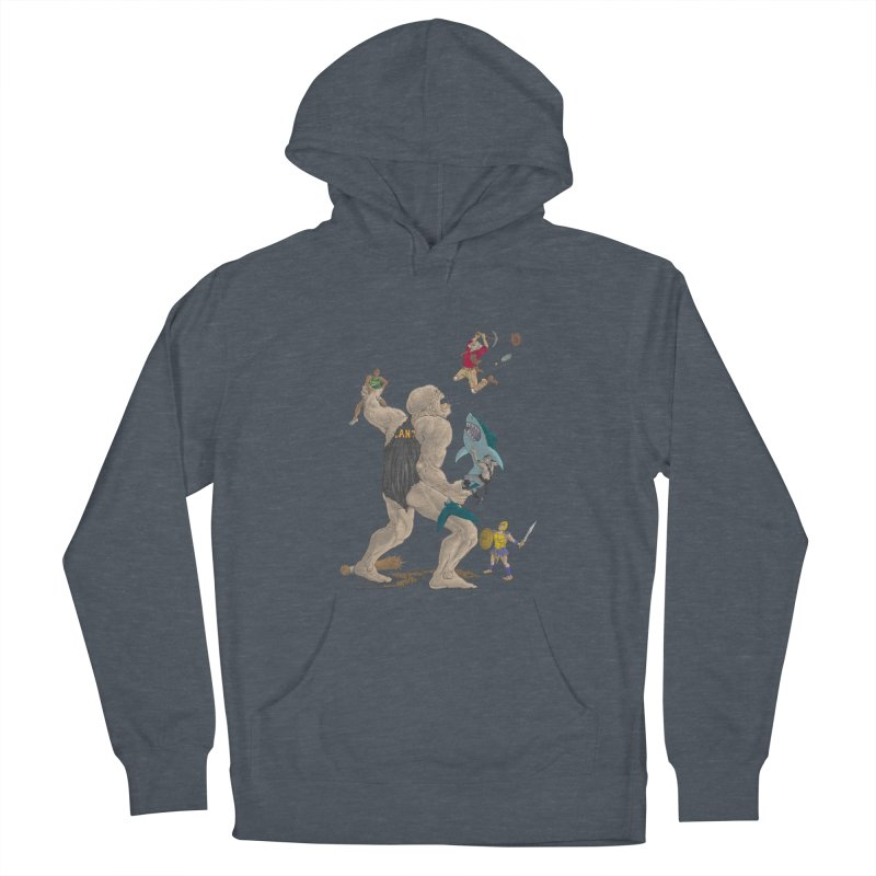 Bay area sports Men's French Terry Pullover Hoody by zonka's Artist Shop