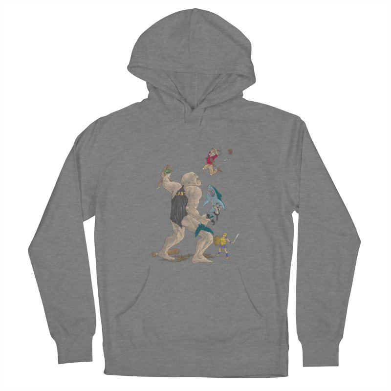 Bay area sports Women's Pullover Hoody by Aaron Zonka's Artist Shop