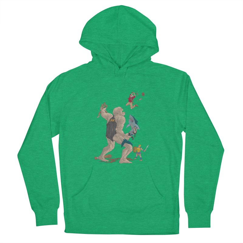 Bay area sports Women's French Terry Pullover Hoody by zonka's Artist Shop
