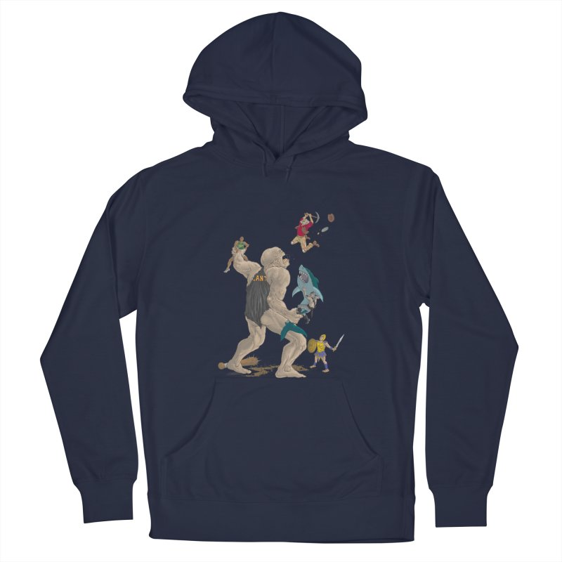 Bay area sports Men's Pullover Hoody by Aaron Zonka's Artist Shop