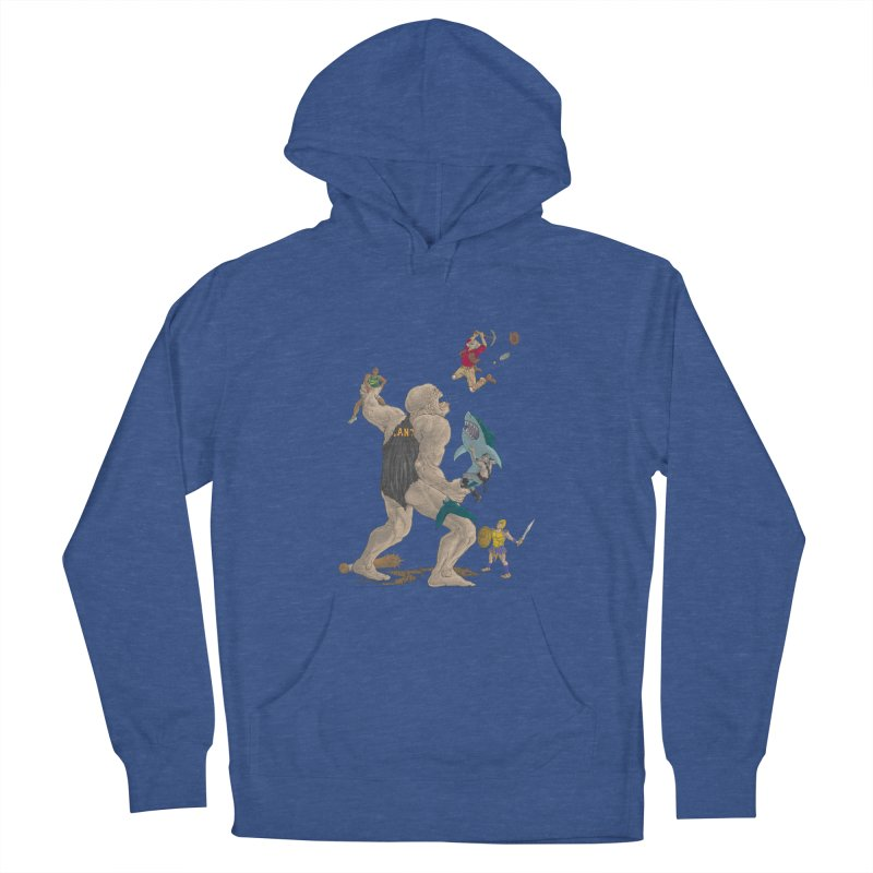 Bay area sports Women's Pullover Hoody by Aaron Zonka's Artist Shop