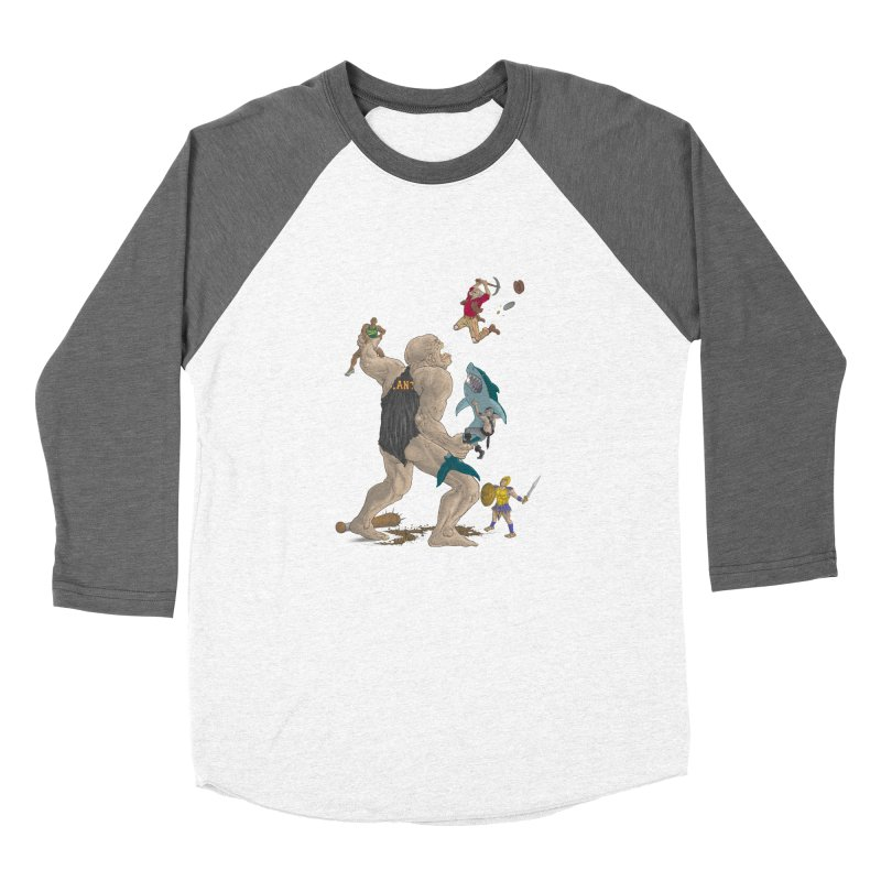 Bay area sports Men's Baseball Triblend Longsleeve T-Shirt by zonka's Artist Shop