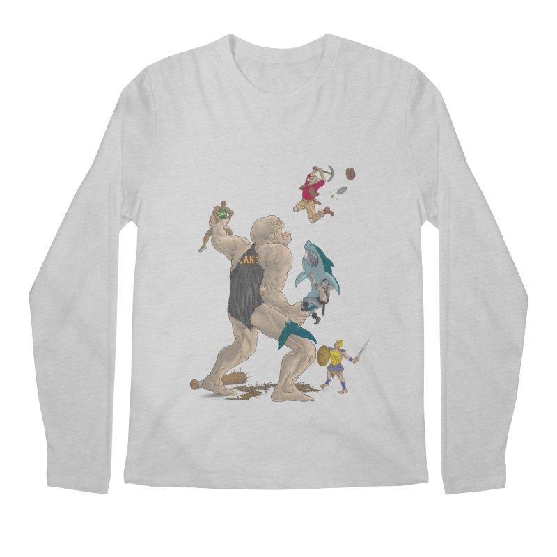 Bay area sports Men's Longsleeve T-Shirt by zonka's Artist Shop