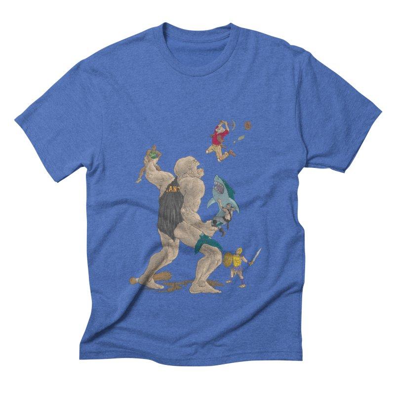 Bay area sports Men's Triblend T-Shirt by zonka's Artist Shop