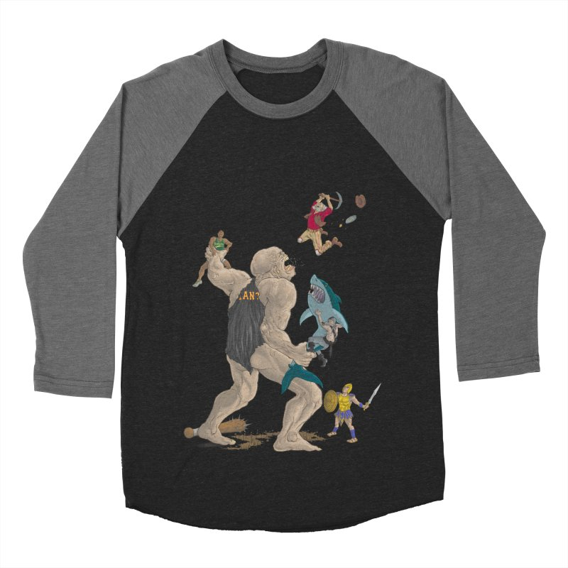 Bay area sports Men's Baseball Triblend T-Shirt by zonka's Artist Shop