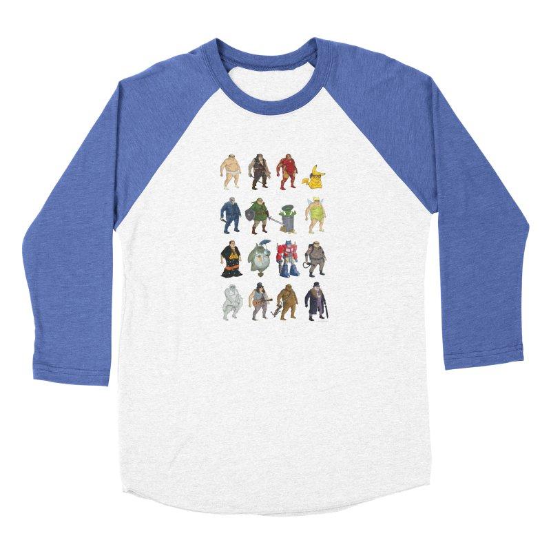 DeVitos Men's Baseball Triblend Longsleeve T-Shirt by zonka's Artist Shop