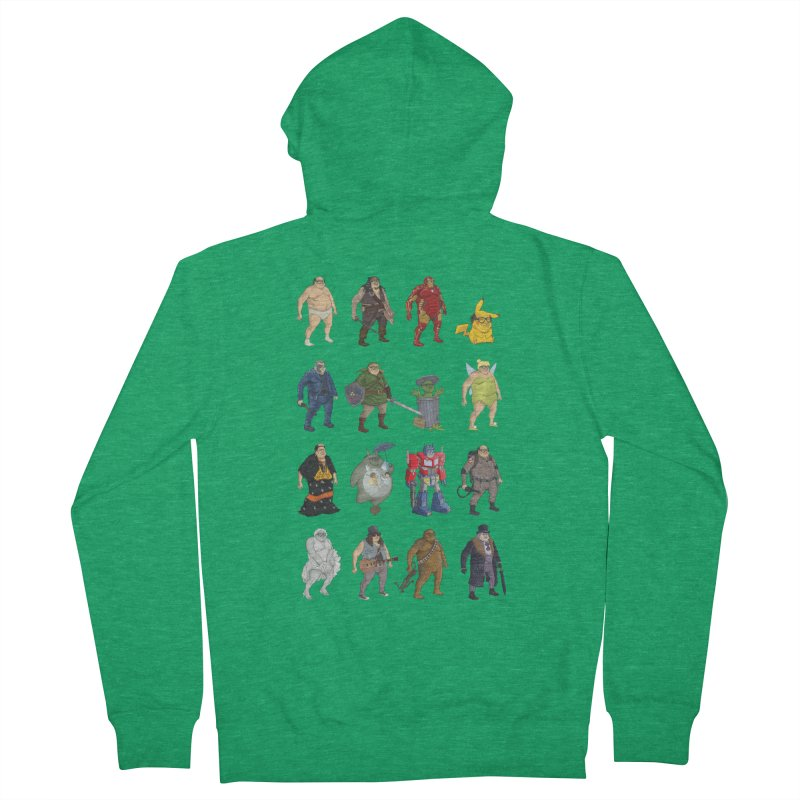 DeVitos Men's Zip-Up Hoody by Aaron Zonka's Artist Shop