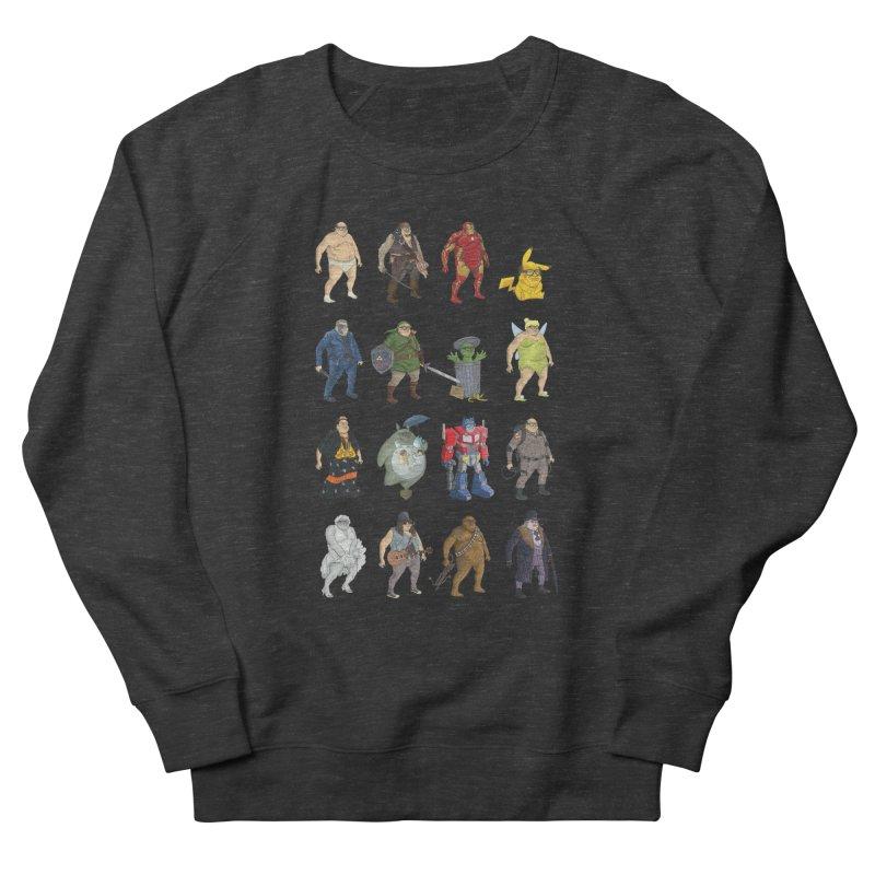 DeVitos Men's French Terry Sweatshirt by zonka's Artist Shop