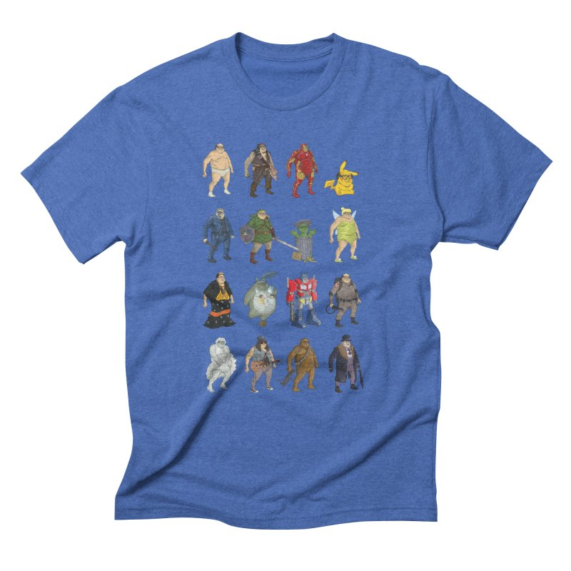 DeVitos Men's Triblend T-Shirt by zonka's Artist Shop