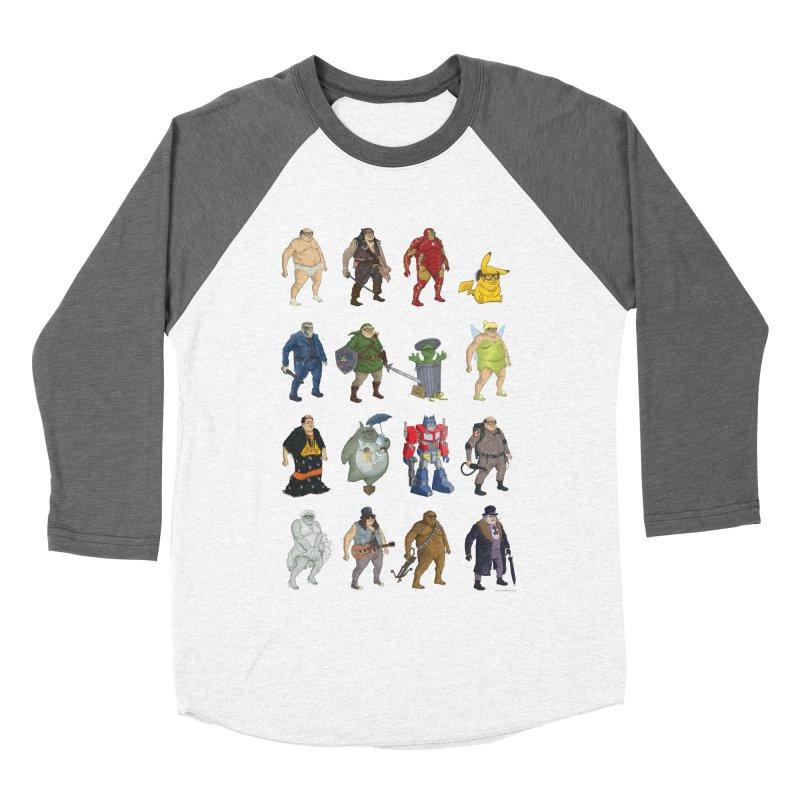 DeVitos Women's Baseball Triblend T-Shirt by zonka's Artist Shop