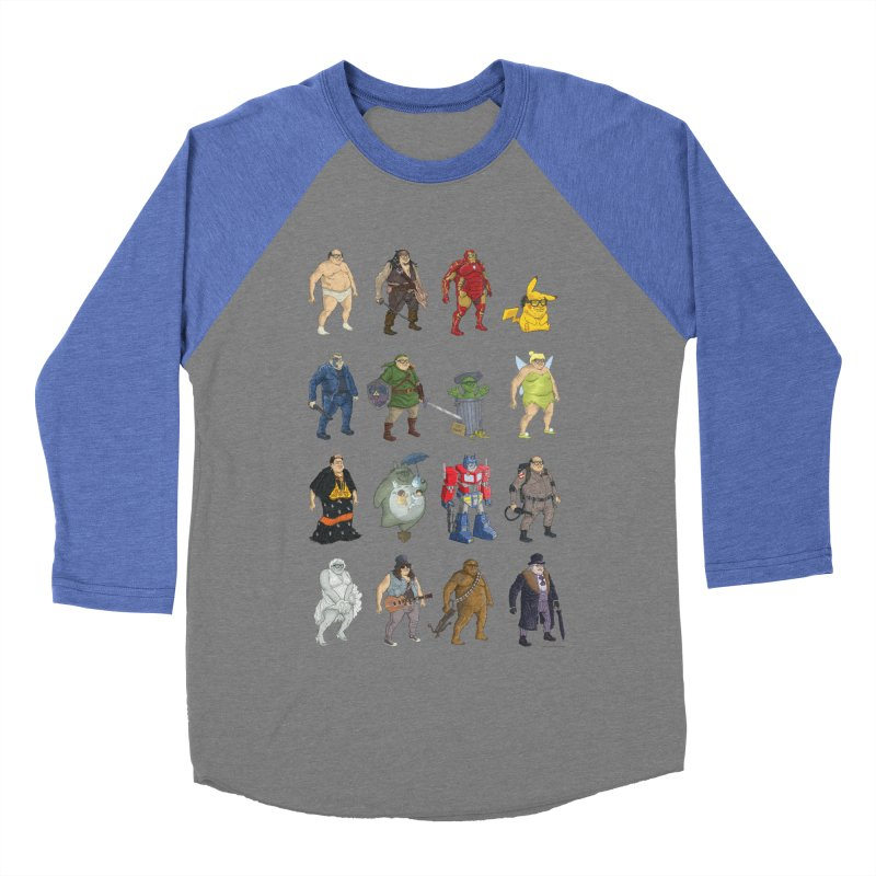 DeVitos Men's Baseball Triblend T-Shirt by zonka's Artist Shop