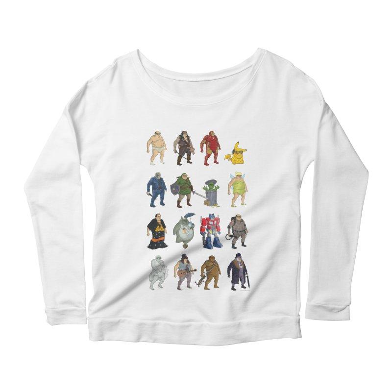 DeVitos Women's Scoop Neck Longsleeve T-Shirt by zonka's Artist Shop