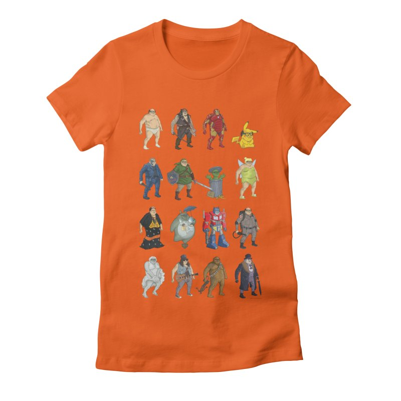 DeVitos Women's Fitted T-Shirt by zonka's Artist Shop