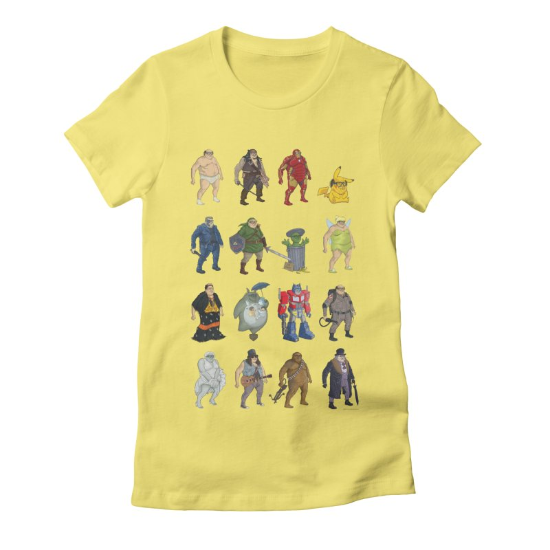 DeVitos Women's T-Shirt by Aaron Zonka's Artist Shop