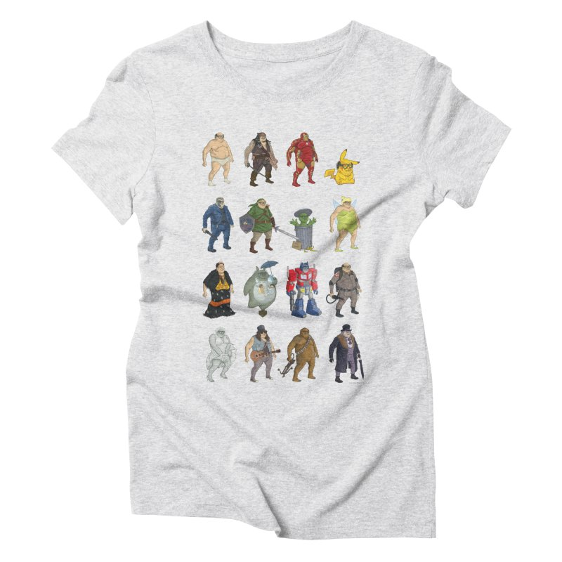 DeVitos Women's Triblend T-Shirt by zonka's Artist Shop