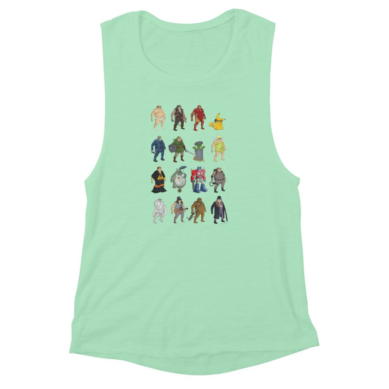 DeVitos Women's Muscle Tank by zonka's Artist Shop