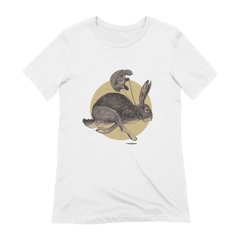 The tortoise and the hare Women's T-Shirt by Aaron Zonka's Artist Shop