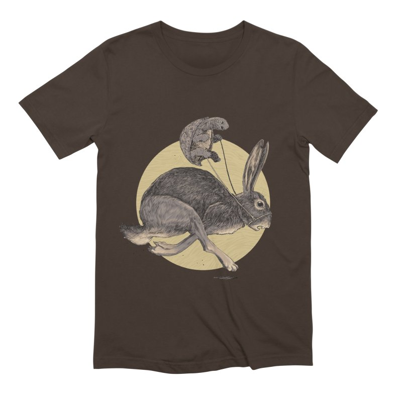 The tortoise and the hare Men's Extra Soft T-Shirt by zonka's Artist Shop