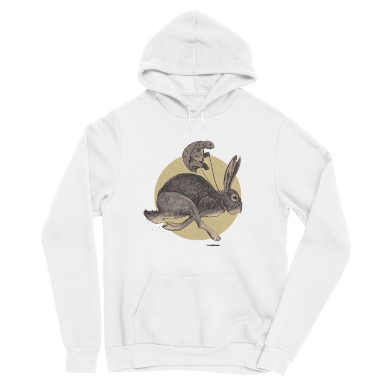 The tortoise and the hare Men's Pullover Hoody by Aaron Zonka's Artist Shop