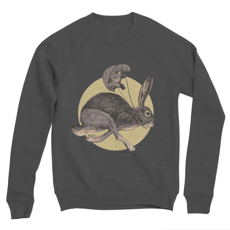 The tortoise and the hare Women's Sponge Fleece Sweatshirt by zonka's Artist Shop