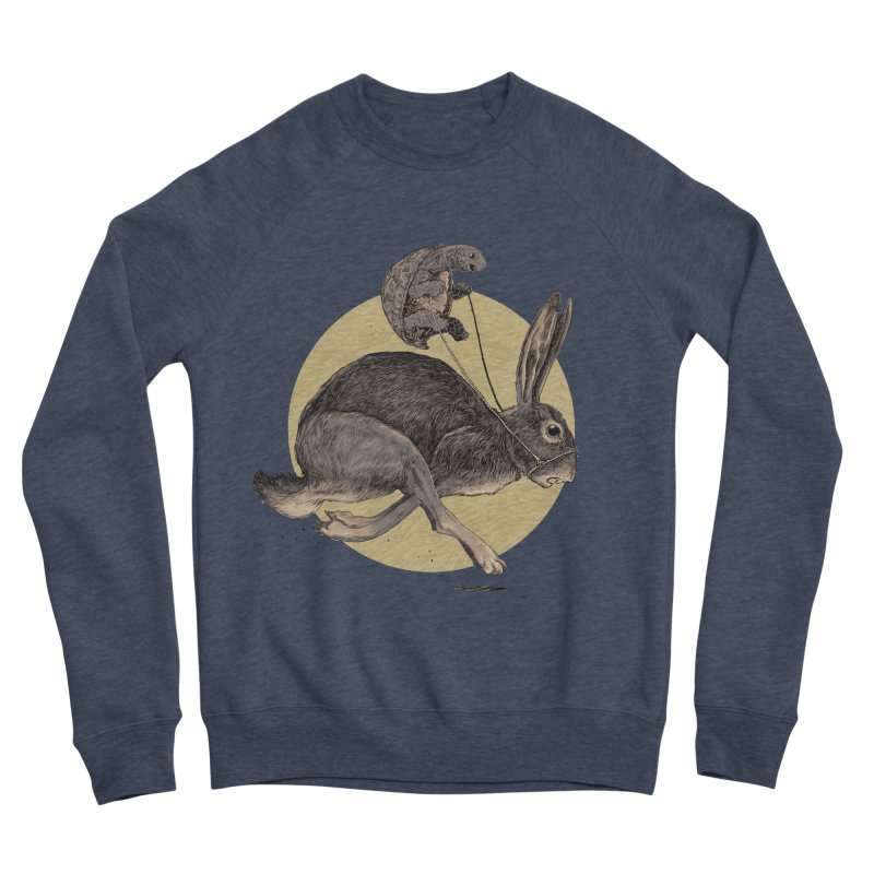 The tortoise and the hare Men's Sponge Fleece Sweatshirt by zonka's Artist Shop