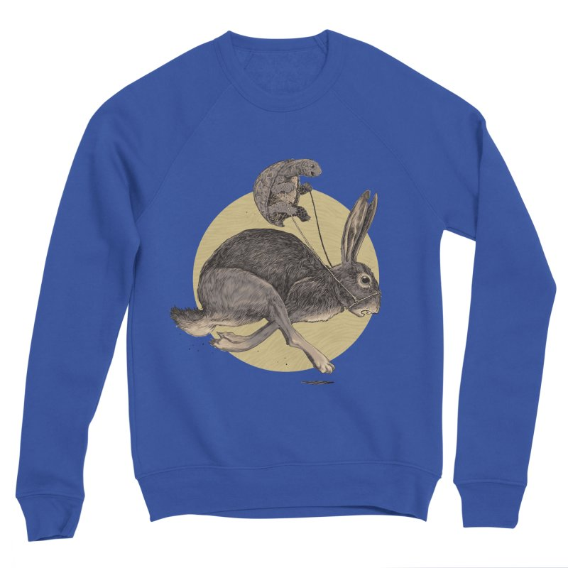The tortoise and the hare Men's Sweatshirt by Aaron Zonka's Artist Shop
