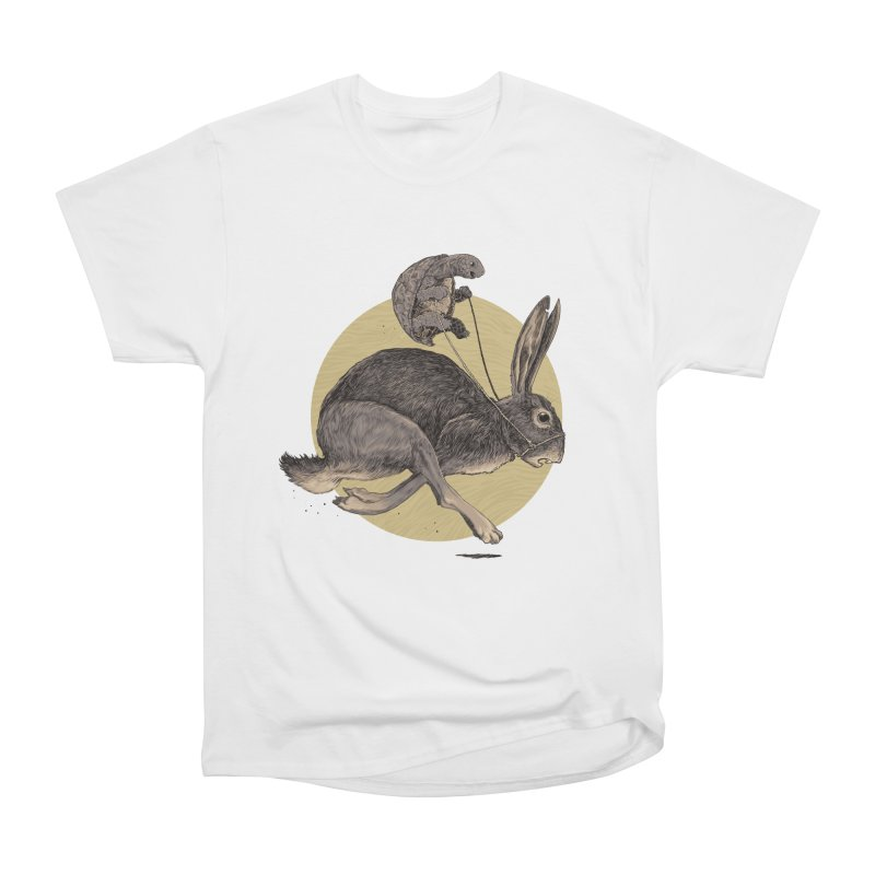 The tortoise and the hare Men's Heavyweight T-Shirt by zonka's Artist Shop