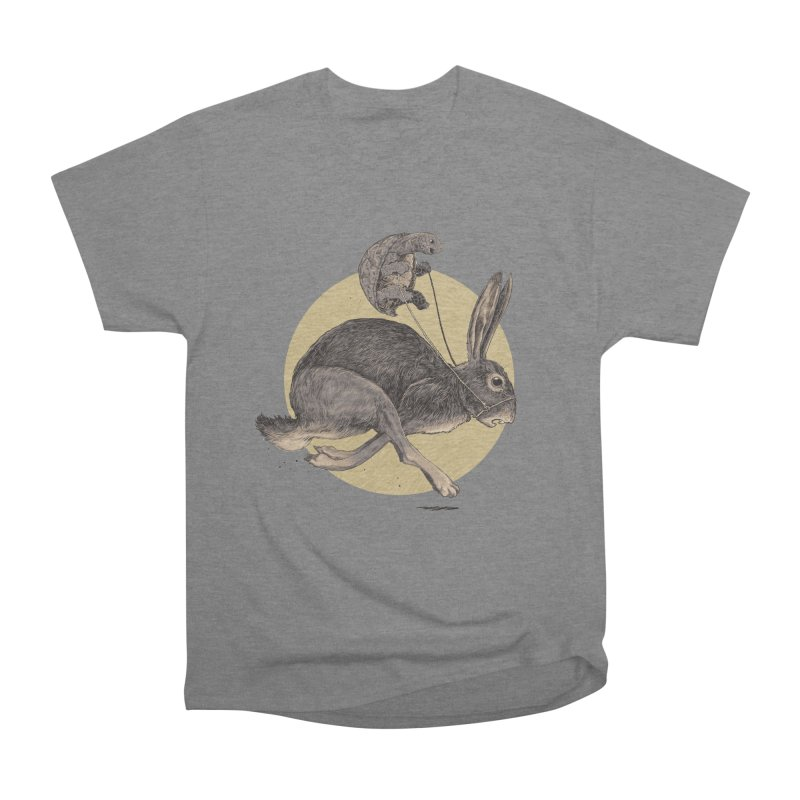 The tortoise and the hare Women's Heavyweight Unisex T-Shirt by zonka's Artist Shop