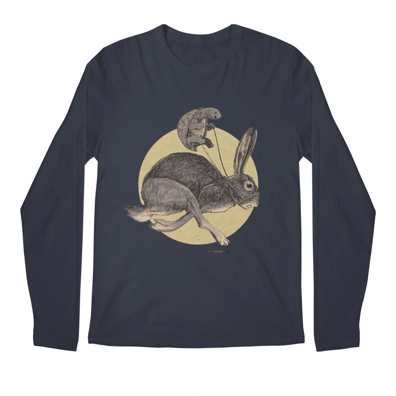 The tortoise and the hare Men's Longsleeve T-Shirt by Aaron Zonka's Artist Shop