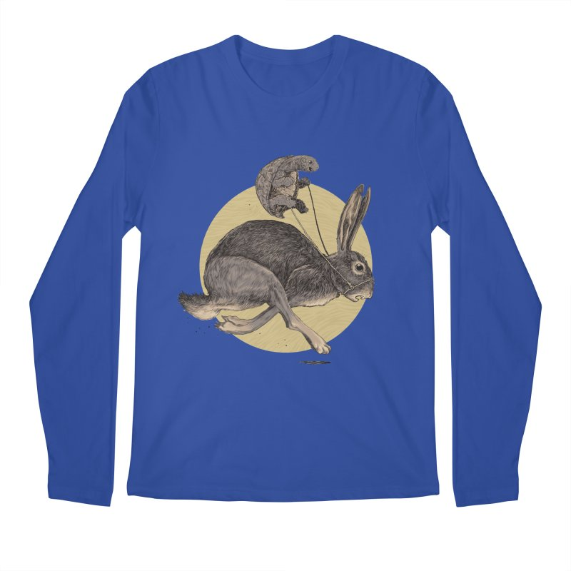 The tortoise and the hare Men's Regular Longsleeve T-Shirt by zonka's Artist Shop
