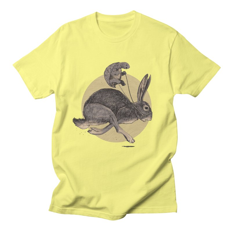The tortoise and the hare Women's Regular Unisex T-Shirt by zonka's Artist Shop