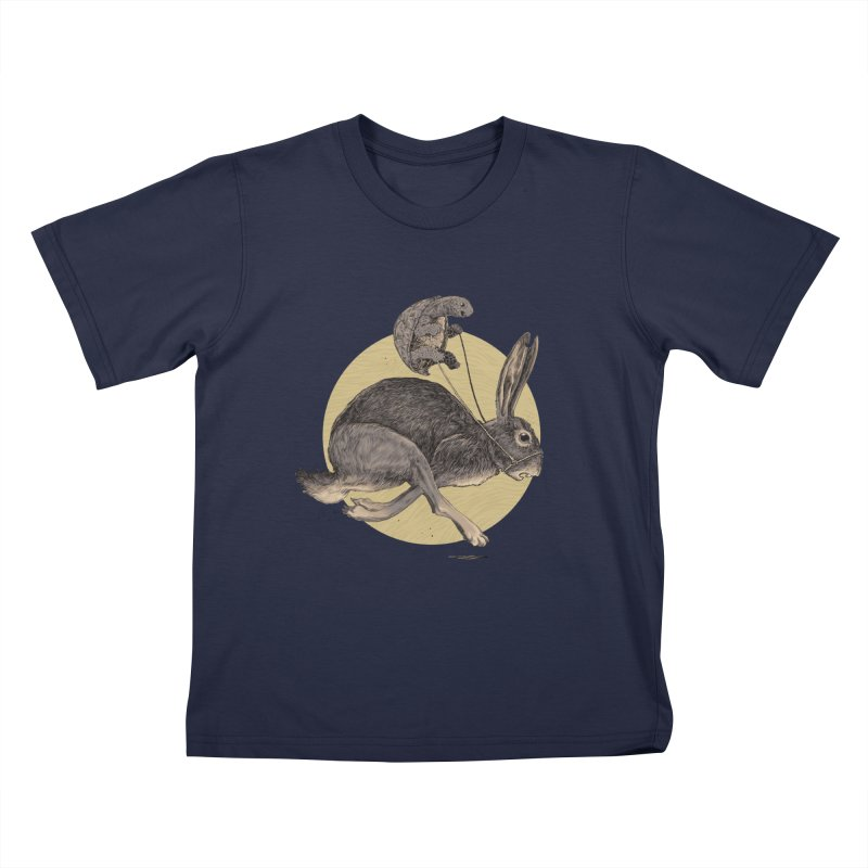 The tortoise and the hare Kids T-Shirt by Aaron Zonka's Artist Shop