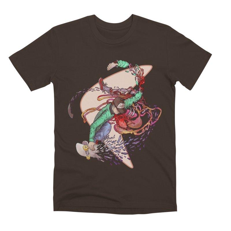 Shredded Men's Premium T-Shirt by zonka's Artist Shop