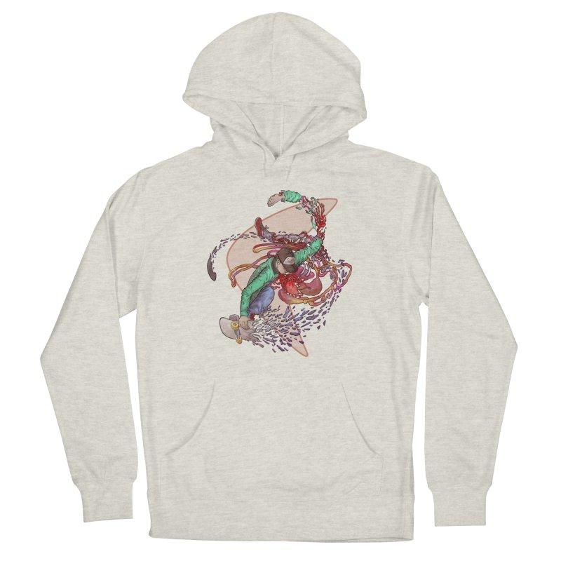 Shredded Women's Pullover Hoody by Aaron Zonka's Artist Shop