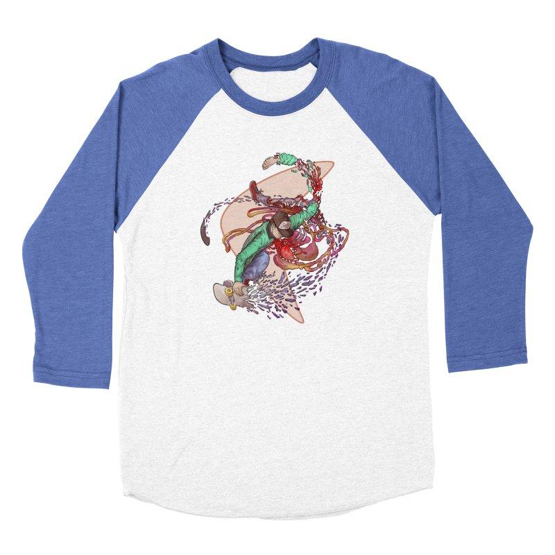 Shredded Women's Longsleeve T-Shirt by Aaron Zonka's Artist Shop