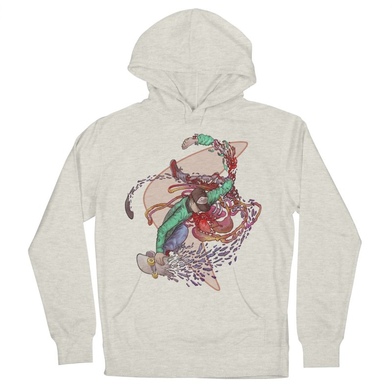 Shredded Women's French Terry Pullover Hoody by zonka's Artist Shop