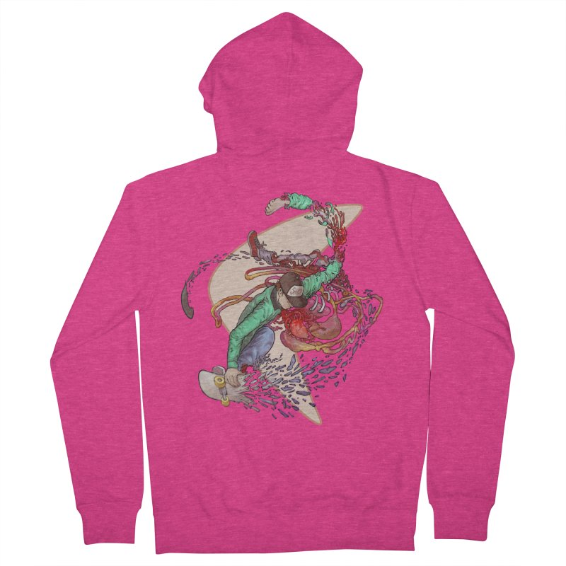 Shredded Women's Zip-Up Hoody by Aaron Zonka's Artist Shop