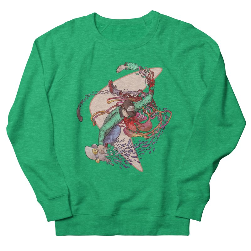 Shredded Women's Sweatshirt by Aaron Zonka's Artist Shop
