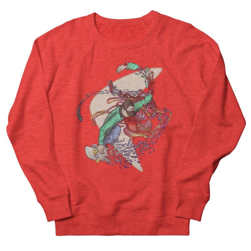 Shredded Men's Sweatshirt by Aaron Zonka's Artist Shop