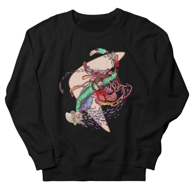 Shredded Men's French Terry Sweatshirt by zonka's Artist Shop