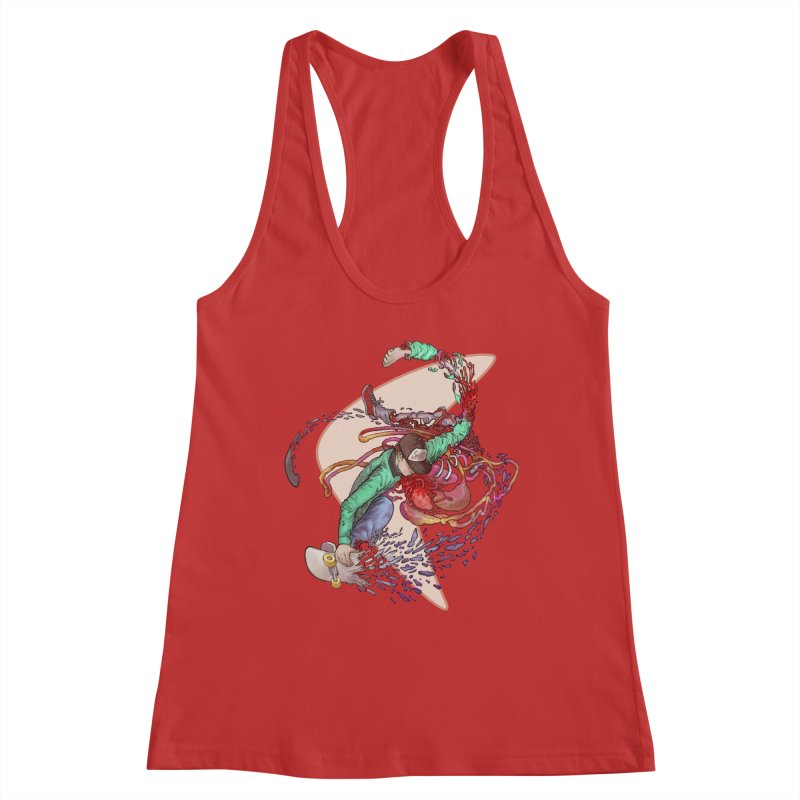Shredded Women's Tank by Aaron Zonka's Artist Shop