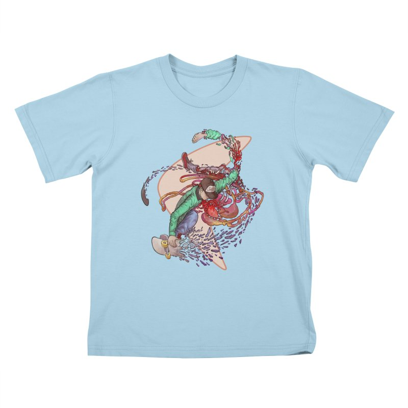 Shredded Kids T-Shirt by Aaron Zonka's Artist Shop