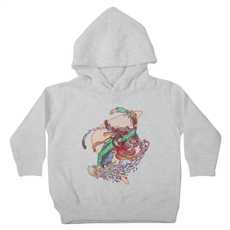 Shredded Kids Toddler Pullover Hoody by Aaron Zonka's Artist Shop